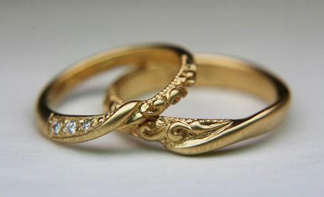 オーダーブライダルの指輪