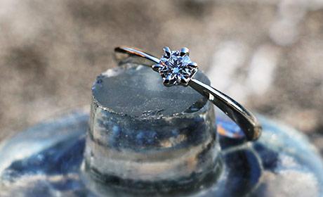 オリジナルブライダルの指輪